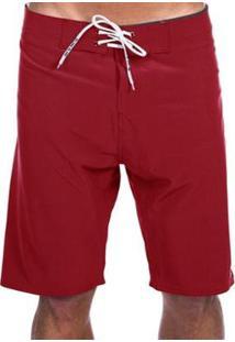 Bermuda Long Island Stun Vermelha - Masculino-Vermelho