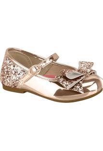 Sapatilha Glitter Molekinha Infantil Feminina 210617613021