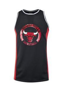 Camiseta Regata Nba Chicago Bulls 23094 - Masculina - Preto