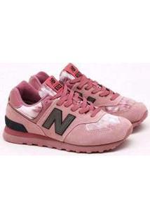 Tênis New Balance 574 V Rosa