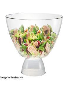 Saladeira De Vidro Com Pé Reggio 5,2L - 29489