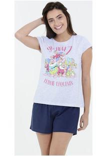Pijama Feminino Shot Doll Sete Anões Disney