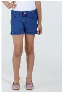 Short Infantil Jeans Stretch Marisa
