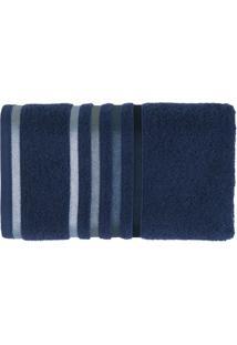 Toalha De Rosto Lumina Azul Marinho