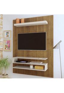 Painel Para Tv Até 47 Polegadas Orion Pinho/Off White - Artely
