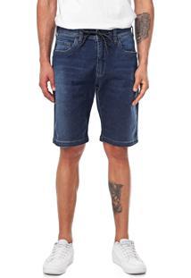 Bermuda Jeans ...Lost Reta Relaxed Special Azul