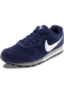 Tênis Masculino Md Runner 2 Marinho/Branco Nike - 749794