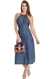 Vestido Jeans Midi Colcci - Feminino