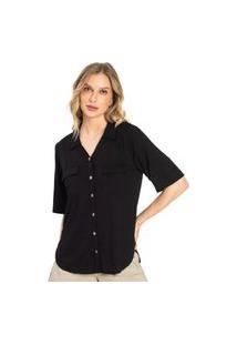 Camiseta Feminina Basic Endless Preto