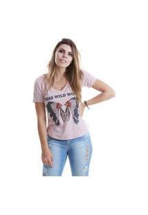 T-Shirt West Dust Kentu Rosa Clay