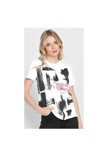 Camiseta Calvin Klein Jeans Power Up Branca