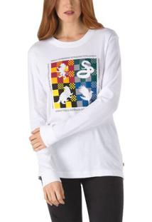 Camiseta Ml Hp Hogwarts Bf - Pp