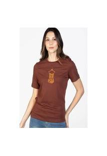 Camiseta Feminina Forget Vinho