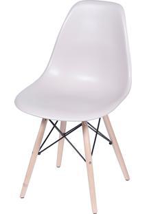 Cadeira Dkr Polipropileno E Base De Madeira Lawang – Fendi