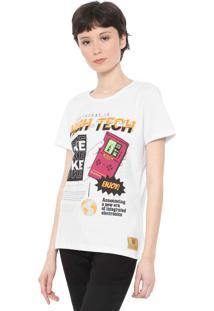 Camiseta Coca-Cola Jeans Future Branca