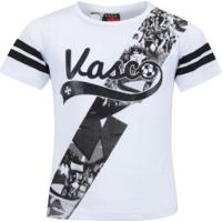 6366633a10408 Camiseta Do Vasco Da Gama Player Feminina - Infantil - Branco