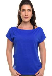 Blusa Sandy Fitness Lines - Feminino - Feminino-Azul Royal