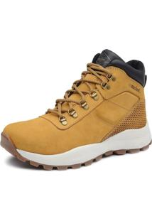 Bota Adventure Cano Alto Macboot Makalu 02 Mostarda