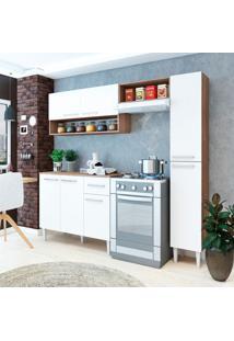 Cozinha Compacta Madri 7 Pt 1 Gv Teka E Branca