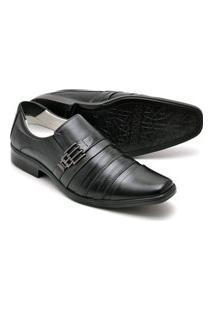 Sapato Confort Pele De Carneiro - 010 Preto