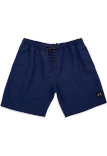 Shorts Oakley 18 Trunk Masculino - Masculino-Marinho