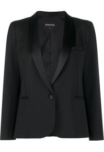 Emporio Armani Tuxedo Jacket - Preto