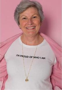 Camiseta Sislla I'M Proud Feminina - Feminino-Branco
