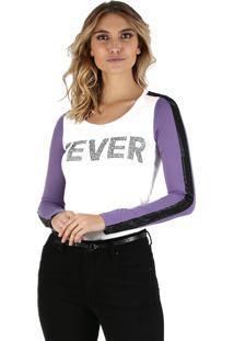 T-Shirt It'S & Co Fever Off-White - Off-White - Feminino - Dafiti