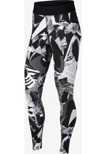 Legging Nike Sportswear Newsprint Feminina