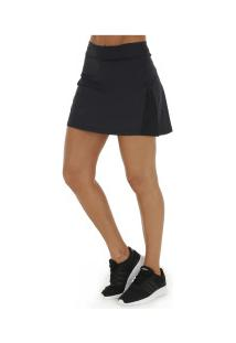 Short Saia Oxer Fit Sports - Feminino - Preto