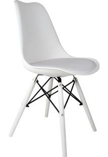 Cadeira Eames Saarinen Leda Ii Branca