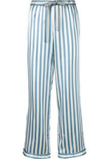 Morgan Lane Calça De Pijama Chantal - Azul
