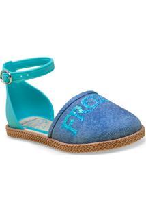 131adf727c Sapatilha Fem Infantil Grendene 21517 Frozen Encanta Azul Claro Jeans