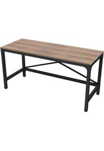 Escrivaninha Industrial Decor Peanut 1,50 Mt - 36264 - Sun House