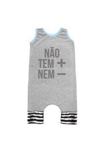 Pijama Regata Comfy Náo Tem + Nem -