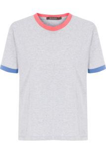 Camiseta Feminina Alice - Cinza