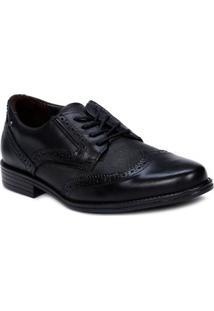 Sapato Oxford Masculino Pegada Preto