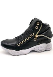 Tênis Sneaker Bmbrasil 250-03 Preto
