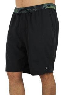 Bermuda Volley Plus Size Hurley Hunter Masculina - Masculino