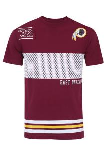 Camiseta New Era Washington Redskins Mesh Listra - Masculina - Vermelho e245780cab2f2