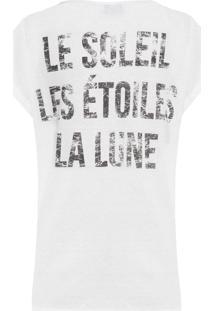 Camiseta Feminina Pecan - Branco