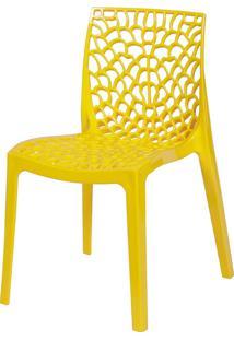 Cadeira Gruvyer S6316 – Or Design. - Amarelo