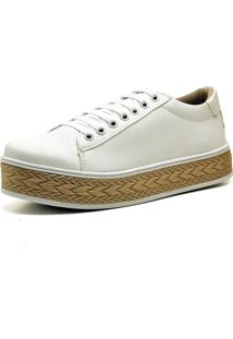 Tênis Casual Trivalle Shoes Branco