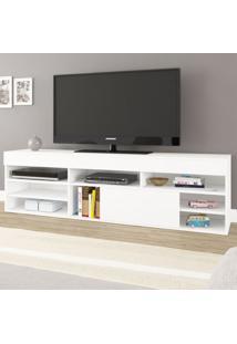Rack Para Tv Até 65 Polegadas Celta 1 Porta Branco - Mobilarte