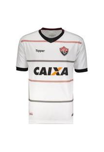 Camisa Vitória Ii 2018 S/Nº Topper Branco 4201623-3859