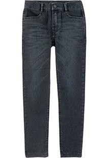 Calça Jeans Juvenil Hering Lisa Masculina - Masculino