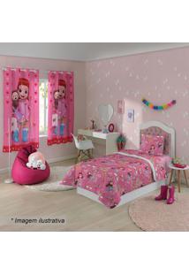 Edredom Dupla Face Rainbow Ruby®- Rosa & Vermelho- 1Lepper
