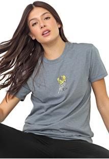 Camiseta Vans Clawdia Cinza - Cinza - Feminino - Dafiti