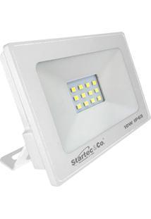Refletor Led 10W 6500K - Startec - Branco