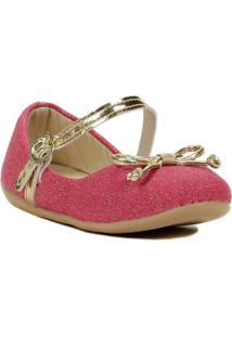 Sapato Infantil Para Menina - Rosa